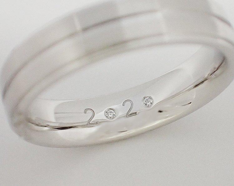 ダイヤが無料でセッティングできる限定フェアサンプル画像
